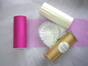 Organza Tape Spool pictures & photos