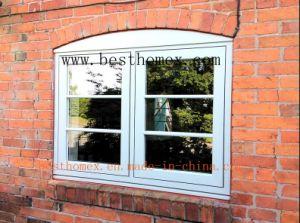 High Class PVC Casement Flush Window (BHP-CW012) pictures & photos