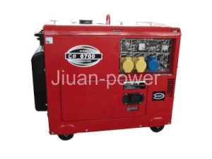 AIr cool Silent Type Diesel Generator (CDS-6700) pictures & photos