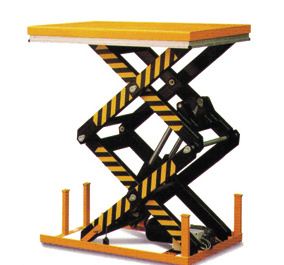 Double Scissor Lift Table with CE Certificate (HD) pictures & photos