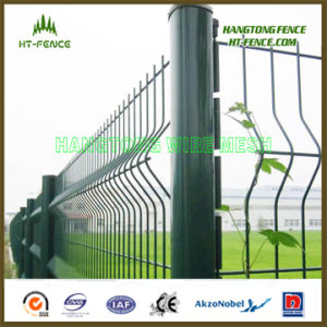 Akzo Powder Coated Welded Wire Fencing pictures & photos