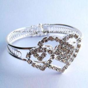 Lover Heart Crystal Bangle&Bracelet (OJBRZ-80004)