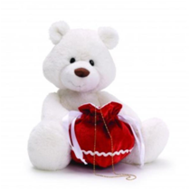 White Teddy Bear (ER150)