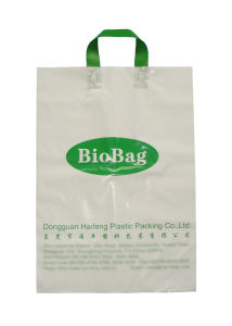 Biodegradable Bag (HF-301) , Lopp Handle Bag, Eco-Friendly Bag, Shopping Bags pictures & photos