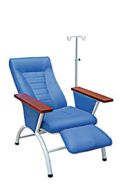 Metal Transfusion Chair with IV Pole (SC-HF21) pictures & photos