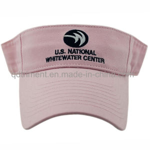 Fashion Embroidery Washed Cotton Twill Sport Golf Visor (TMV9233-1) pictures & photos