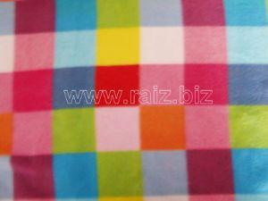 Colorful Plaid Fleece Fabric pictures & photos