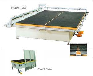 Glass Semi-Automaitc Cutting Machine for Cutting Glass pictures & photos