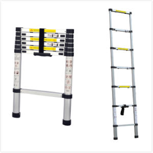 GS TUV Approved Aluminium Telescopic Ladder