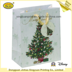 Luxury Custom Printed Christmas Gift Bags pictures & photos