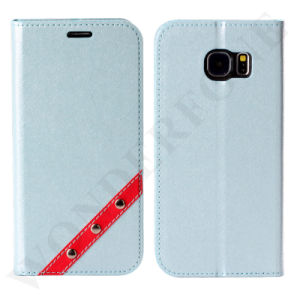 China Hot Selling Flip Mobile Phone Leather Case for Samsung pictures & photos