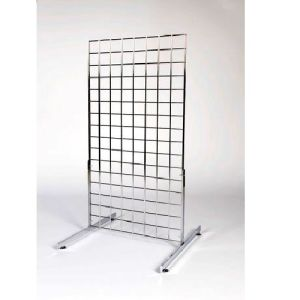 Chrome Mesh Grid Wall Display Gridwall Panels pictures & photos