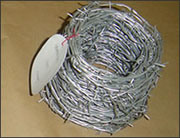 High Quality Aluminium Alloy Barbed Wire pictures & photos