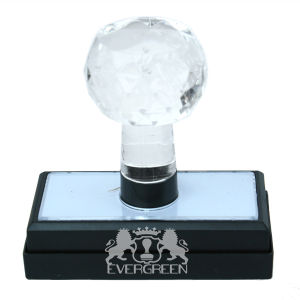 Crystal Handle Flash Stamps 30*60mm pictures & photos
