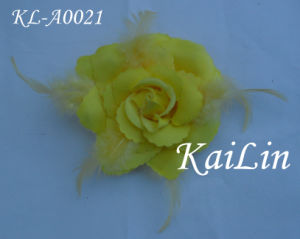 Handmade Flower With Feather (KL-A0022)