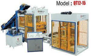 Interlock Block Making Machine (QT12-15)