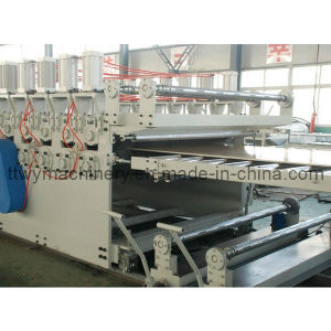 WPC Door Board Making Machine (TSJ-80) pictures & photos