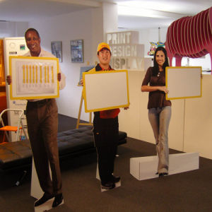 Cardboard Standee, Cardboard Poster Display Stand pictures & photos