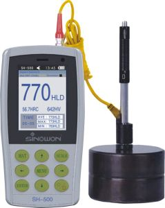 Color Screen Ultrasonic Leeb Portable Hardness Test Equipment pictures & photos