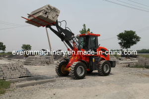 Everun Brand CE Certificated Articulated 2.0 Ton Shovel Loader pictures & photos