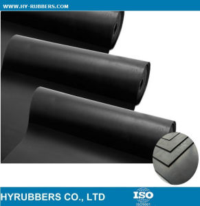 Cloth Insertion Rubber Sheet, Color Industrial Rubber Sheet Roll pictures & photos