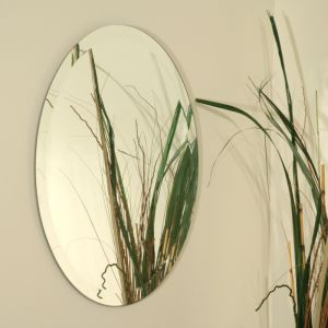 Oval Shaped Mirror (SC-021) in Customer Size with Double Coated Paint pictures & photos