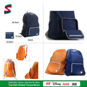High Quality Washed Polyester Backpack Handbag