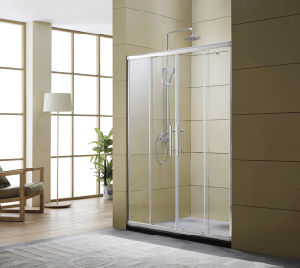 Four Clear Tempered Glass Shower Room / Bath Screen pictures & photos