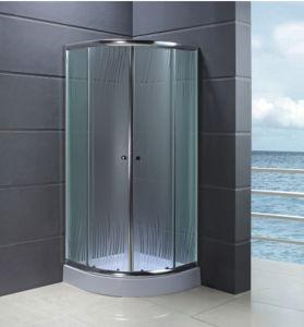 Misty Glass Shower Cabin