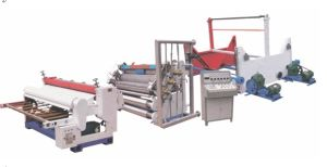 Heavy Duty Single Facer Corrugated Cardboard Production Line pictures & photos