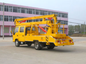Isuzu 4X2 Lifting Paltform High Altitude Operation Truck Tree Pruning Truck pictures & photos