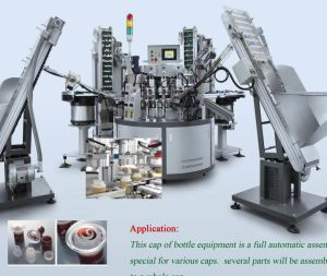 Fully Automatic Bottle Cap Assembling Machine