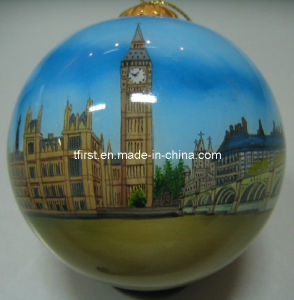Glass Ball With Inside Painting (DO10)