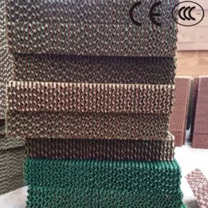 Honey Comb Air Cooler Cooling Cell Pad / Corrugated Cellulose Evaporative Cooling Pad for Air Cooler pictures & photos