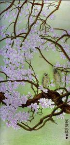 Acid Etched Paint Coated Decorative Art Glass pictures & photos