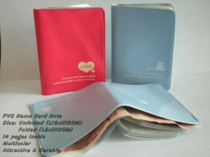 Eco-Friendly PVC Name Card Wallet pictures & photos