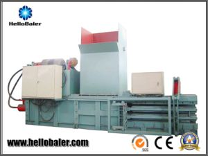 High Efficiency Waste Plastic Baling Machine with 700kn Pressing Force pictures & photos