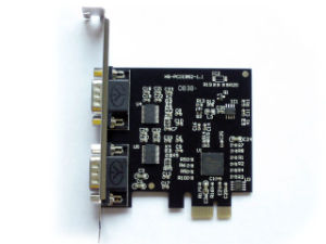 PCI Express to Serial 2-port Controller Card
