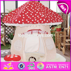Lovely Girls Mushroom Shaped Indoor Play Tent Funny House Indoor Play Tent for Toddlers W08L010 pictures & photos