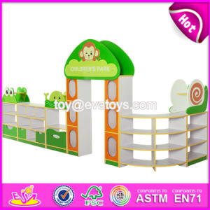 Customized Early Education Center Wooden Children Toy Storage Furniture W08c202 pictures & photos
