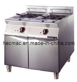 Commercial Electric Double Tanks Fryer (FEHXB401) pictures & photos