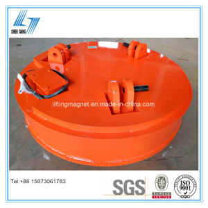 Industrial Circular Type Crane Lifting Electromagnet for Lifting Steel Scraps pictures & photos