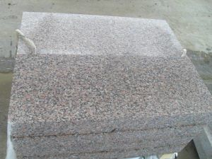 G562 Maple Red Granite Polished Slab Flooring Tiles pictures & photos