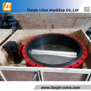 Good Quality Cast Iron Butterfly Valve with Ss304 Disc pictures & photos
