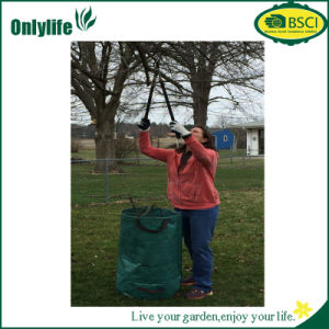Onlylife PE Fabric Foldable Garden Leaf Bag pictures & photos
