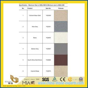 Cheap Price Fine-Grain Multicolor Quartz Stone Tile with SGS pictures & photos