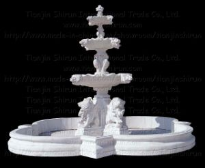 Stone Marble Carving Water Fountain (XF399) pictures & photos