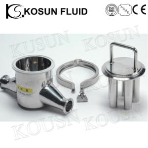 Stainless Steel Food Grade Hygienic Magnetic Filter pictures & photos