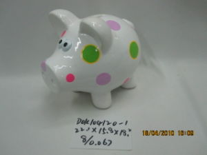 Ceramic Piggy Bank (104120-1)