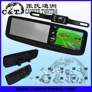 "4.3"" Car Rear View Mirror GPS LCD Monitor With Camera Kit (Rvgsmdy"